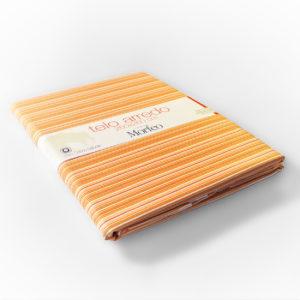 telo-arredo-boutique-dei-sogni-puro-cotone-100%-tra-le-braccia-di-Morfeo-righe-arancio